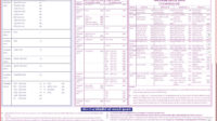 HSC STD 12 Time Table