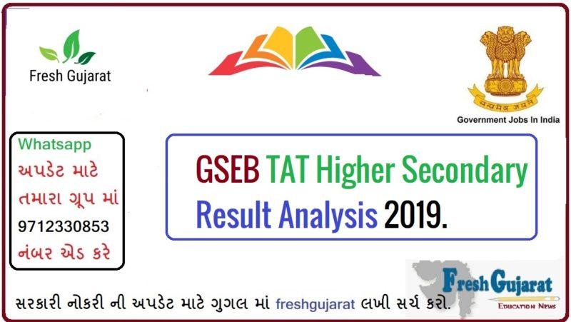 TAT Higher Secondary Result Analysis