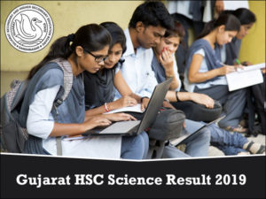 GSEB 12th Science Result 2019
