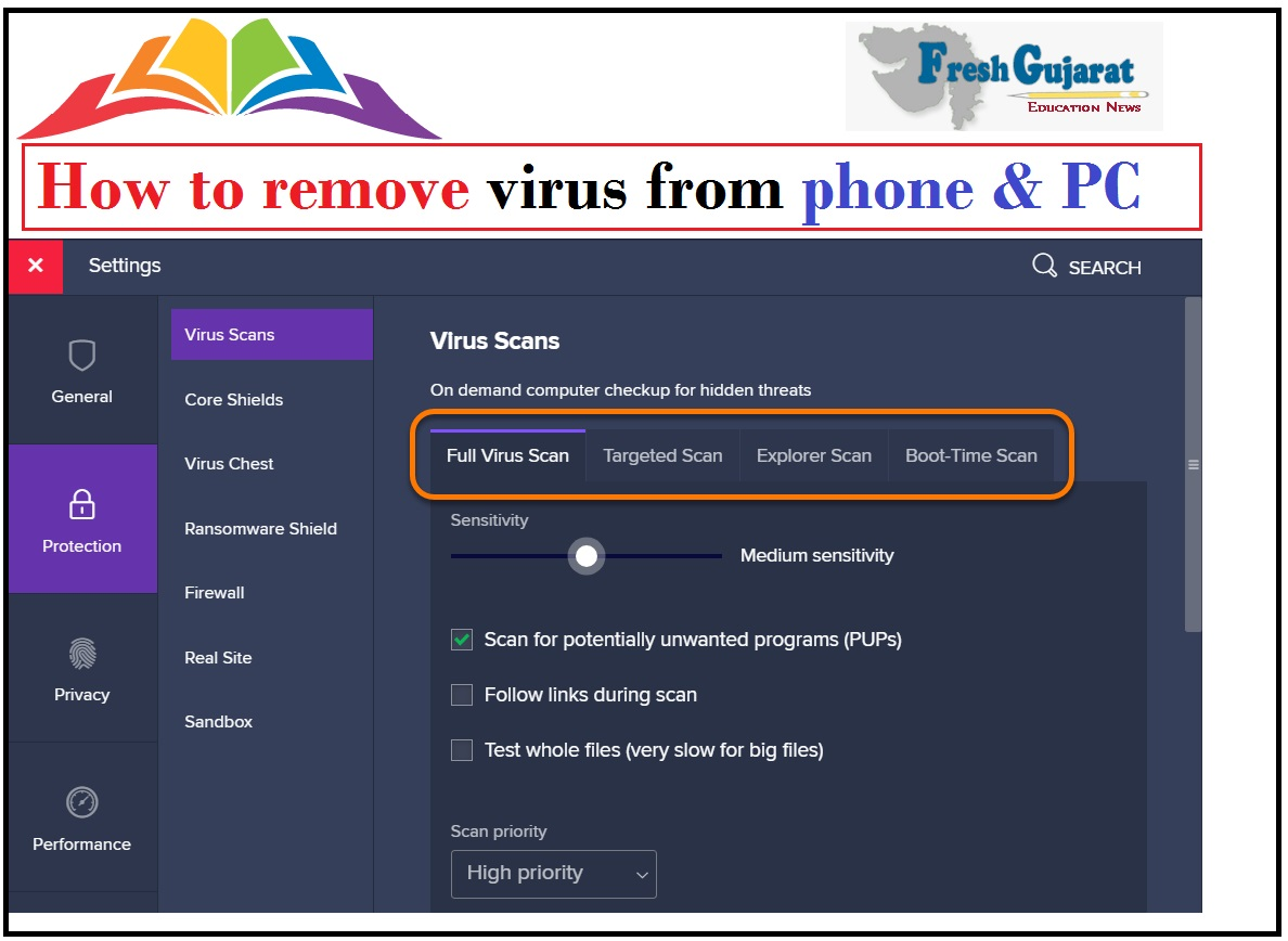How to remove virus from phone