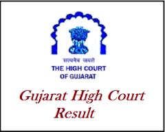 High Court of Gujarat Civil Judge Result