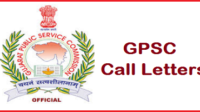 Gpsc Police Inspector Class 2 Exam Call Latter