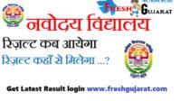 Class 6 Navodaya Result