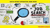 Data Entry Operator Job