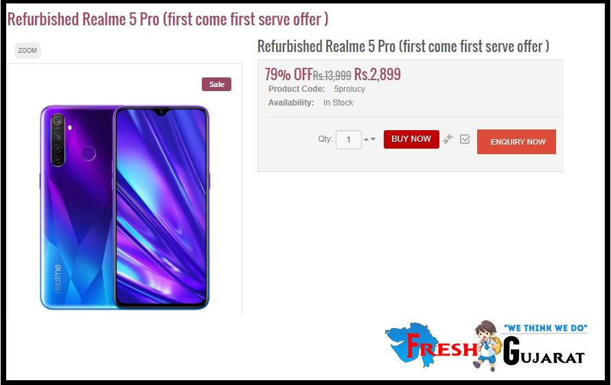 Realme 5 Pro Buy RS 2899