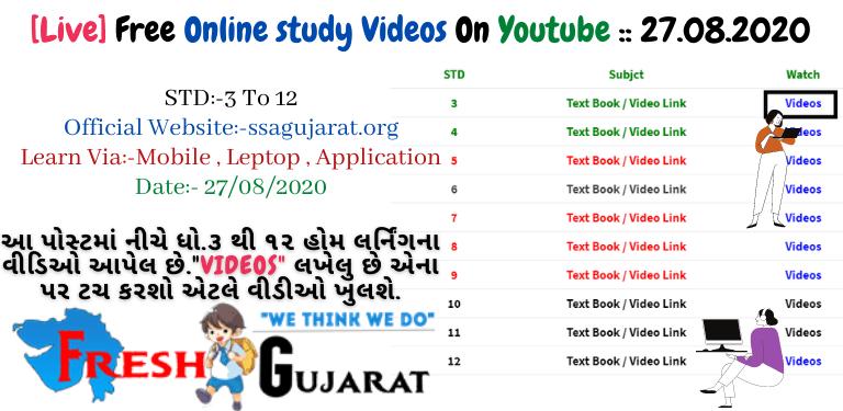 Free Online study Videos
