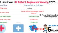 17 District Anganwadi Vacancy