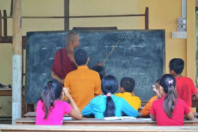 E learning for school students