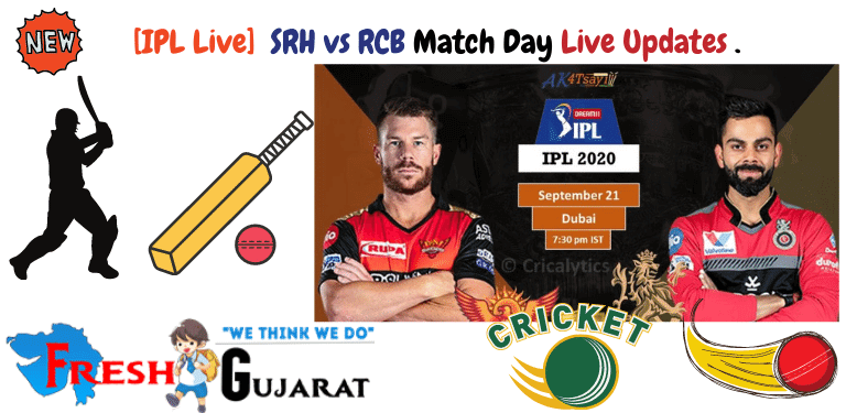 SRH vs RCB Match Day Live