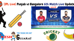 Punjab vs Bangalore 6th Match Live