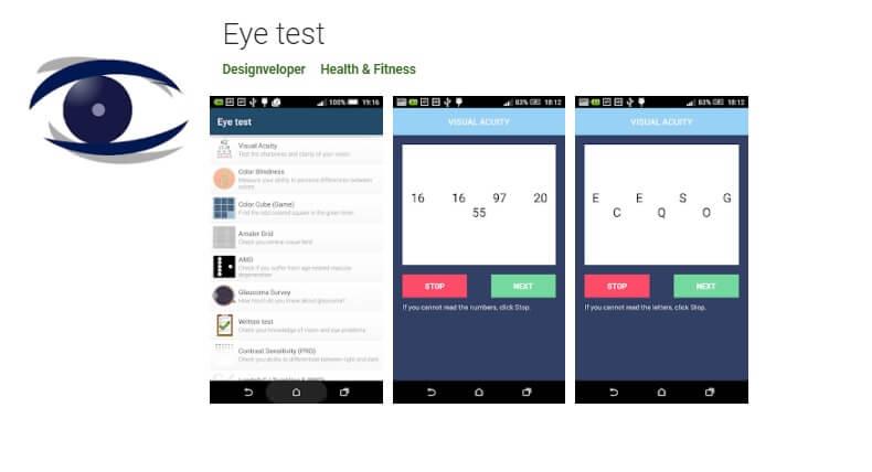 Best Eye test app
