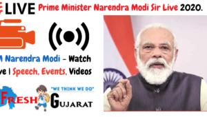 Prime Minister Narendra Modi Sir Live
