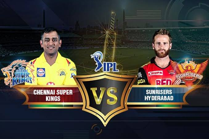 Chennai Super Kings vs Sunrisers Hyderabad