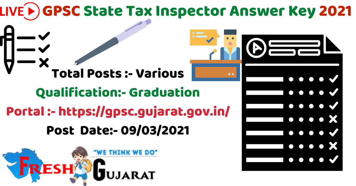 State Tax Inspector Answer Key