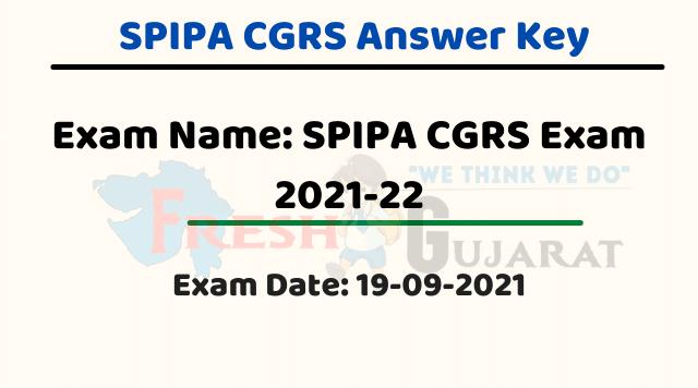 SPIPA CGRS Answer Key 2021